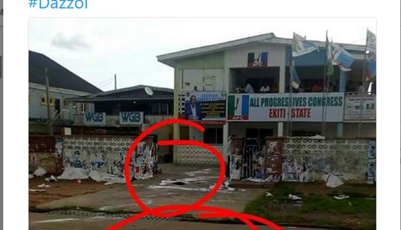 Politics Today: Diabolic Sacrifices at the Front of APC Secretariat