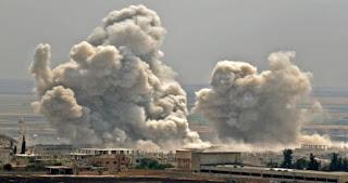"""الاحتلال الروسي يعاود قصفه على ريف إدلب ..ويدمر فرنًا للخبز في بلدة """"معصران"""""""