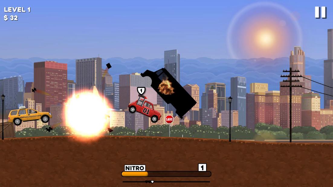 Death Chase Nitro Hileli APK - Sınırsız Para Hileli APK