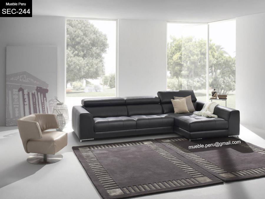 Muebles pegaso muebles de sala en cuero for Muebles de sala de cuero