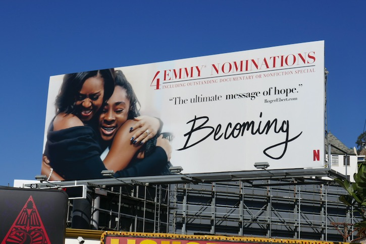 Becoming 4 Emmy nominations billboard