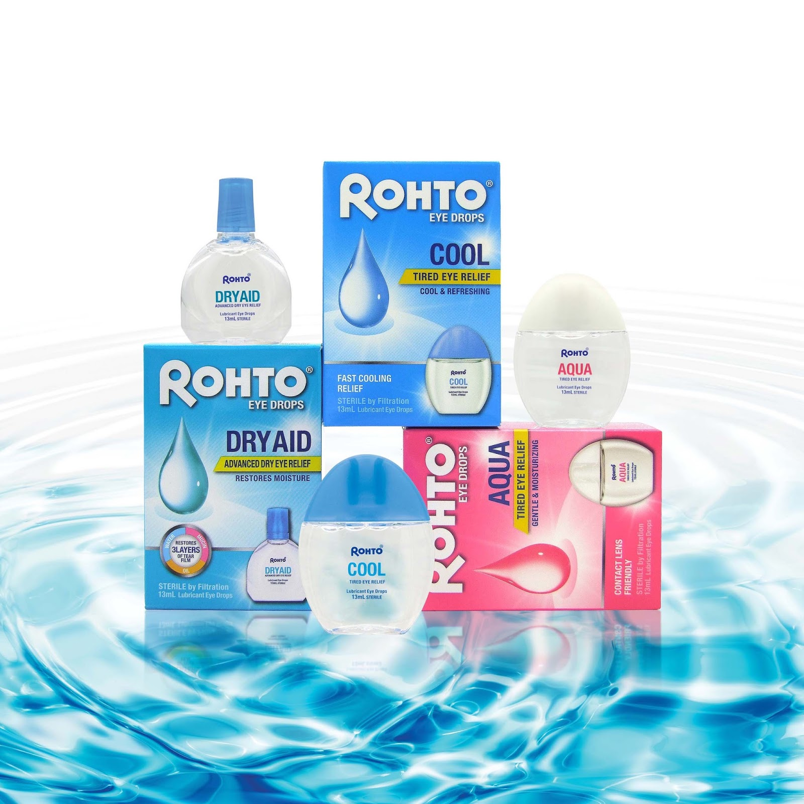Rohto Eye Drops For That Healthy Sparkling Beautiful Eyes Deelicious