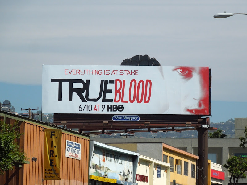 True Blood season 5 Vampire Eric billboard