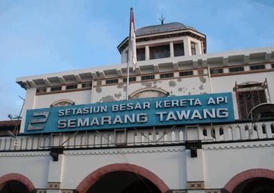 Pesona Keindahan Wisata Stasiun Tawang Di Semarang Jawa