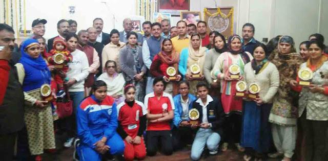 Khela Bharati completes the El Mehta Dayanand Women's College of Jija Bai Sammelan