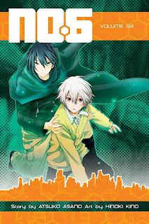 No. 6, portada del manga