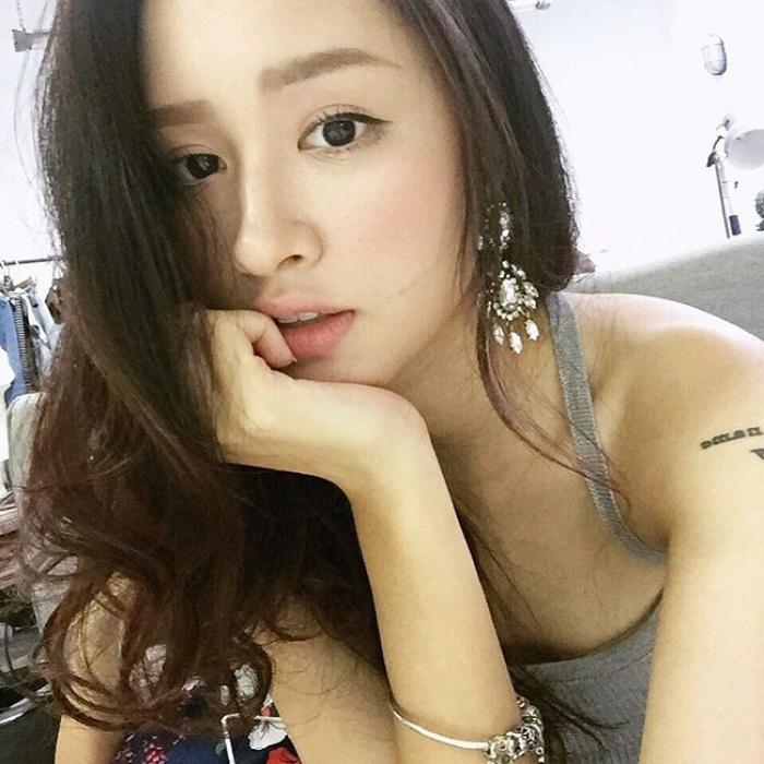 Mát trời , Các hot girl showbiz Việt đang để những mái tóc nà12o