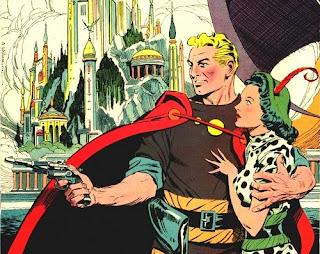 Personaje de Flash Gordon para cómic creado por Alex Raymond