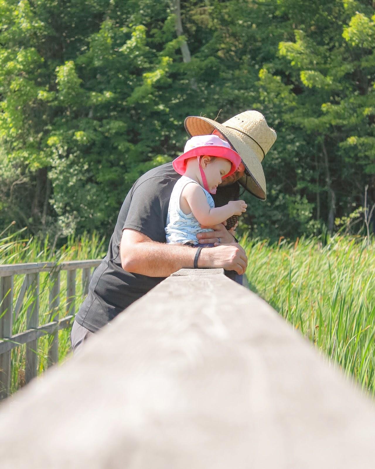 Family friendly camping at Awenda Provincial Park, Ontario