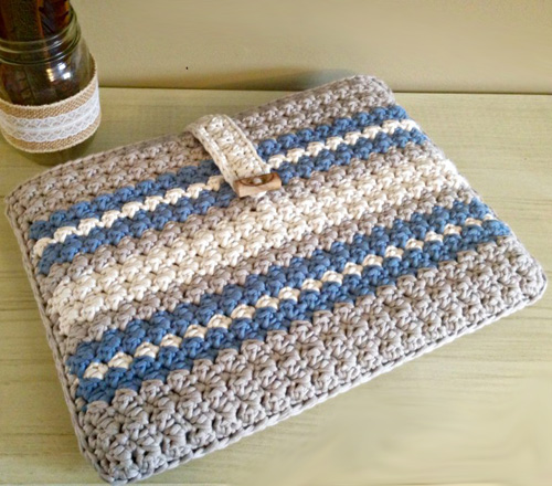 Crochet Laptop Case - Free Pattern