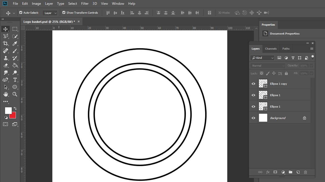 Tutorial Membuat Logo Dengan Adobe Photoshop Dari Awal