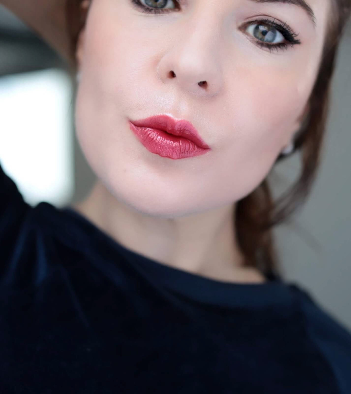 Chanel Rouge Allure 607 Camélia Rouge Métal test