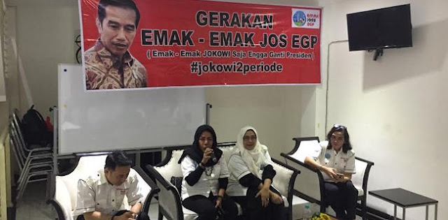Ngaku Ekonomi Nggak Susah, Emak-emak JOS EGP Ini Dukung Jokowi