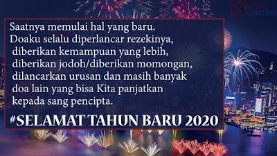 Kartu Ucapan Tahun Baru 2021