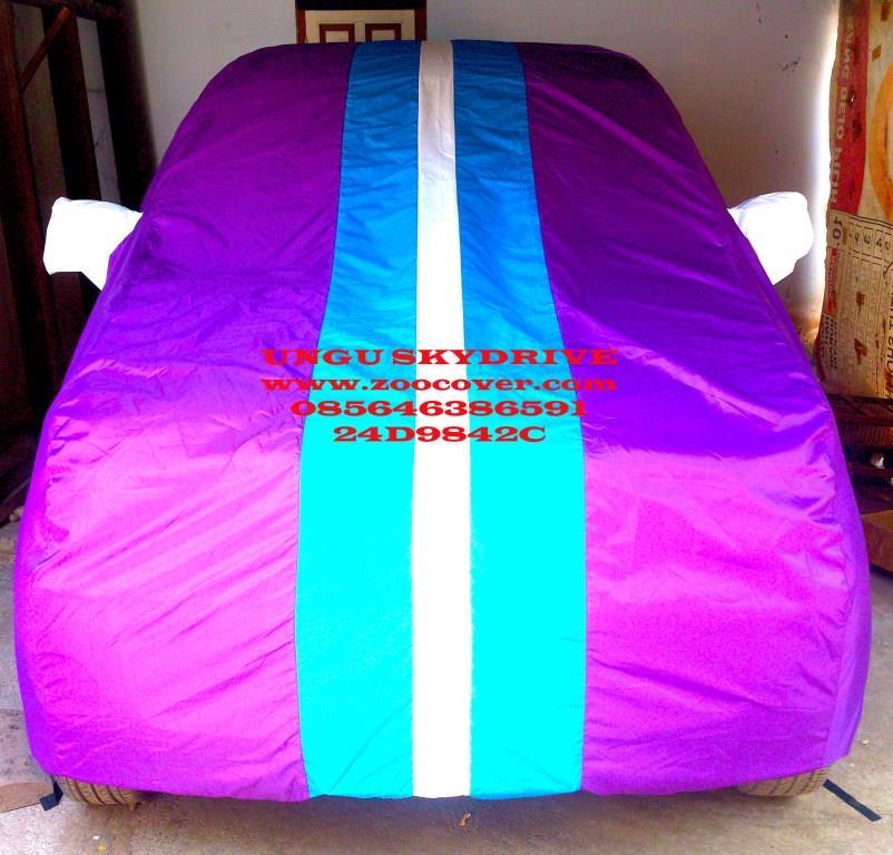 jual cover mobil custom sarung mobil kombinasi warna