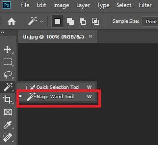 Cara Menghilangkan Background Foto Menggunakan Adobe Photoshop 3 - Mazzajie