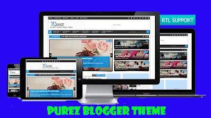 Purez V1.1 Responsive Blogger Theme - Responsive Blogger Template