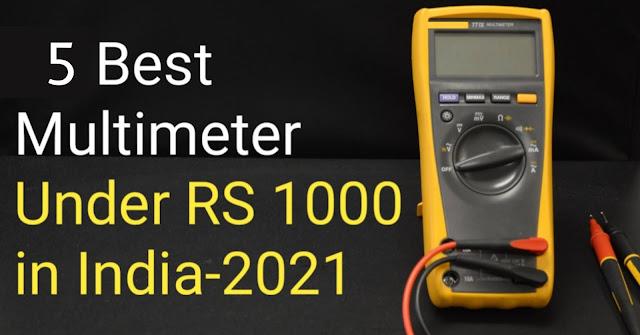 5 Best Multimeters Under RS 1000 In India 2021 |Best Multimeter in 2021|