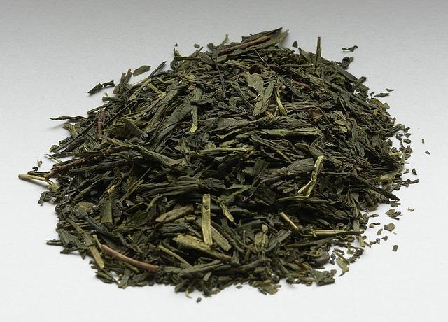 suszona zielona herbata