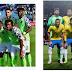 Super Eagles line-up for friendly against Brazil