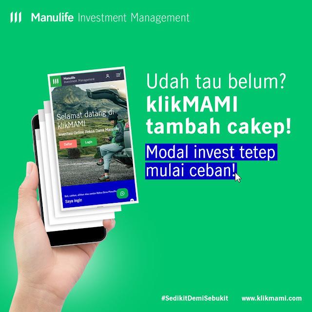 Investasi Reksa Dana Online dari Manulife