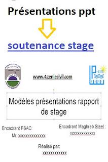 6 Exemples Présentations Powerpoint Pour Soutenance De Stage