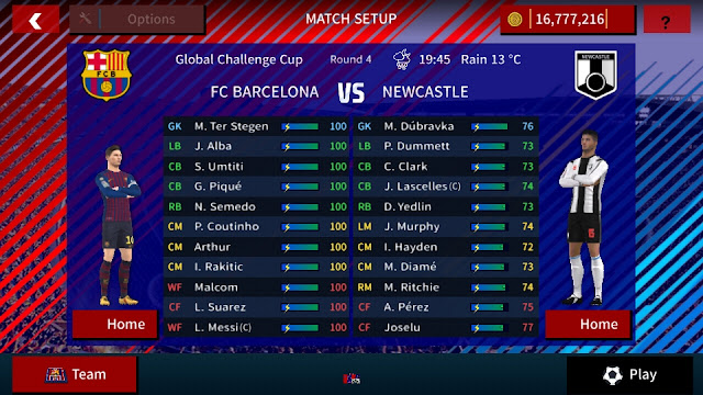 تحميل دريم ليغ بمود برشلونة باخر الانتقالات والاقمصة