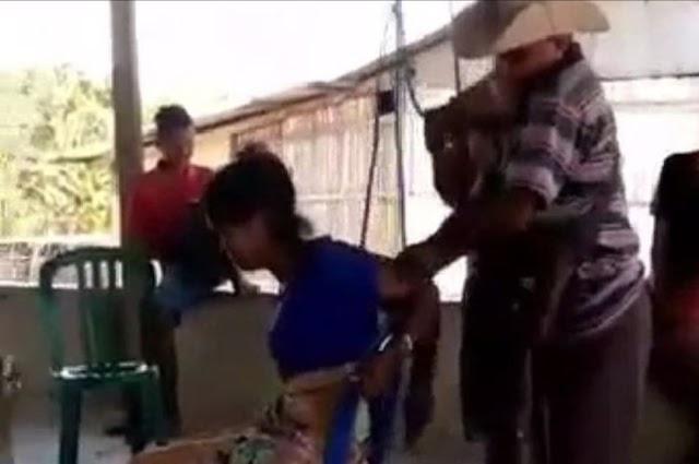 Gadis NTT Dituduh Mencuri, Disiksa dalam Kondisi Tangan Terikat