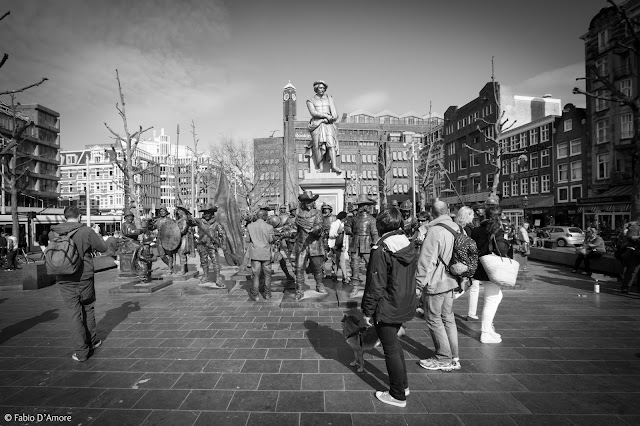 Monumento a Rembrantplein-Amsterdam