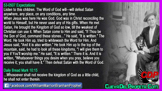 How to defeat Satan the devil - William Branham