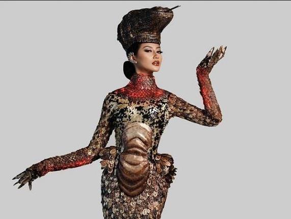 kostum komodo ayuma putri indonesia
