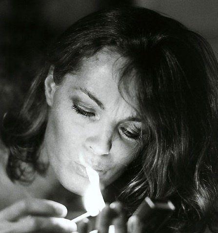 Model Romy Schneider