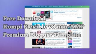 Download template Kompi Flexible v8 non-AMP gratis