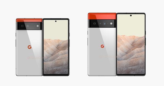 تسريب المواصفات الكاملة لهواتف جوجل Pixel 6 و Pixel 6 Pro