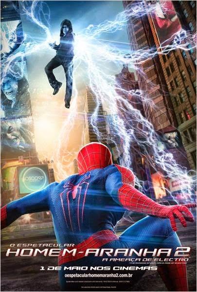 Baixar Torrent O Espetacular Homem-Aranha 2: A Ameaça de Electro BDRip Dual Áudio Download Grátis