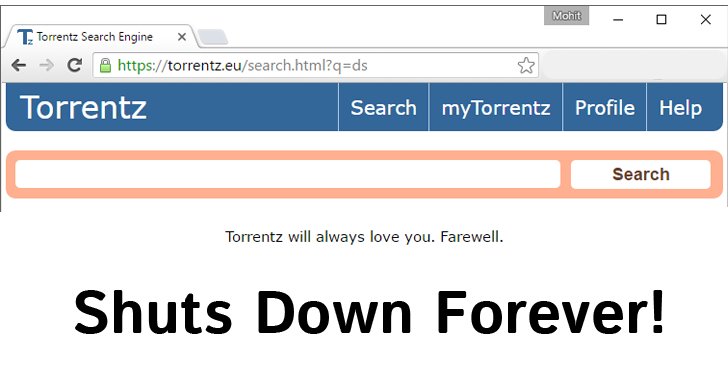 Torrentz.eu Shuts Down Forever! End of Biggest Torrent Search Engine