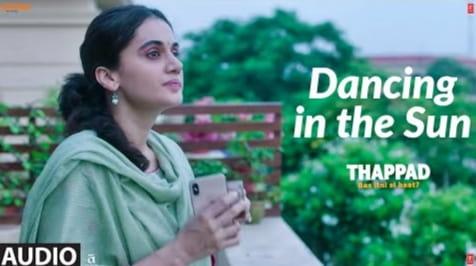 Dancing In The Sun Lyrics in Hindi, Sharvi Yadav, Thappad