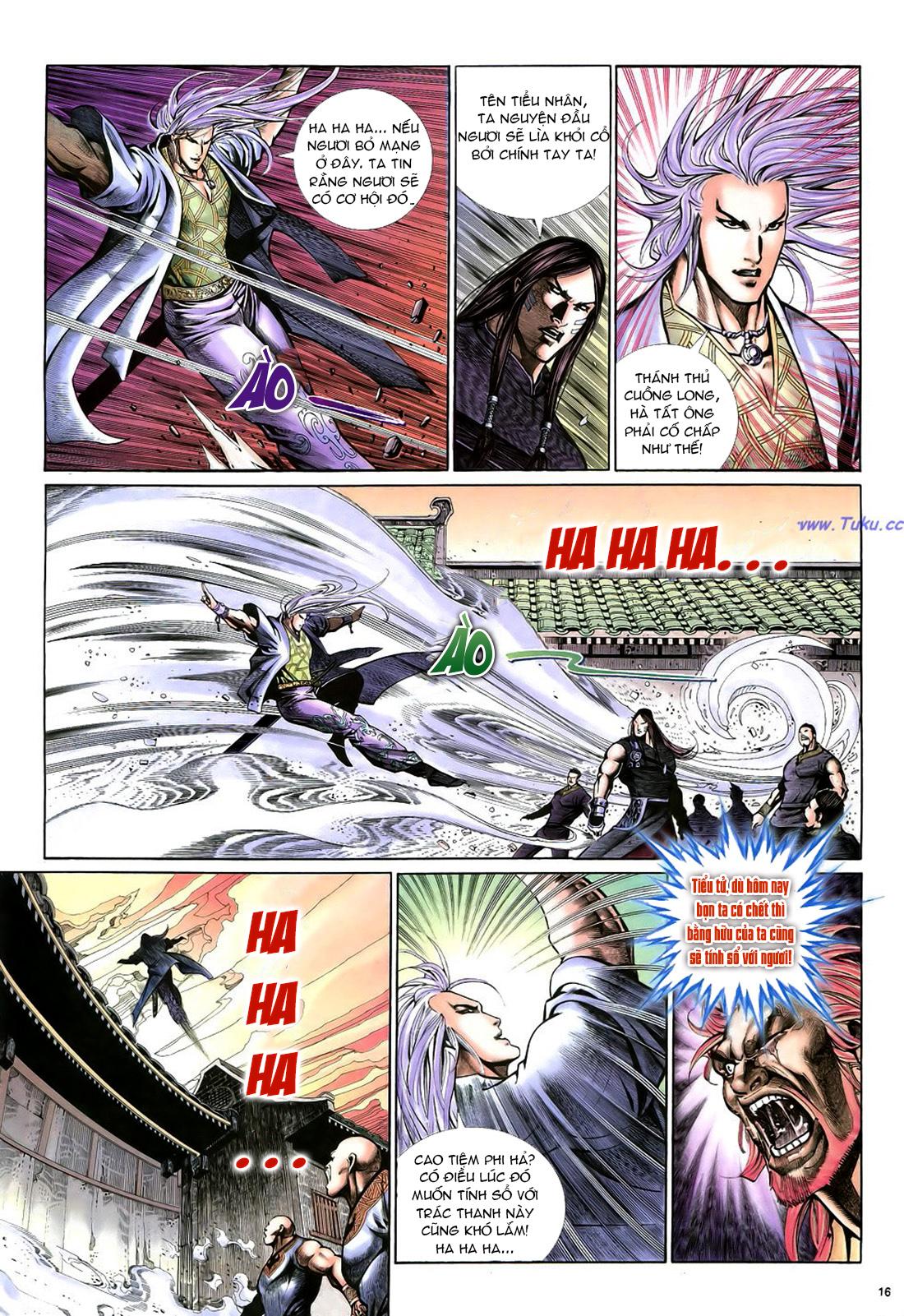 Anh hùng vô lệ Chap 22 trang 17