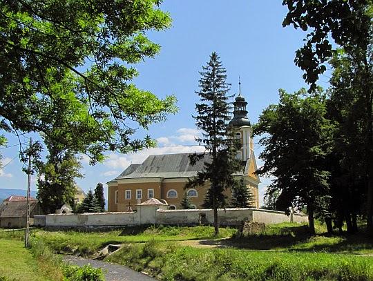 Kościół św. Jerzego w Wilkanowie z 1516 roku.