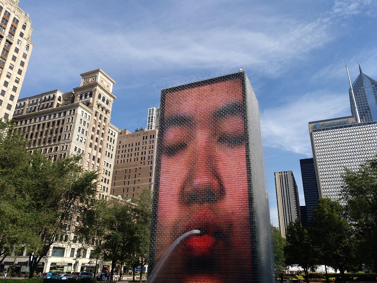costumbres-visitar-chicago-crown-fountain