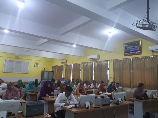 rapat pleno kenaikan kelas SMAN 110 tahun 2019