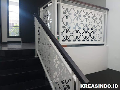 17+ Model Railing Balkon Besi Hollow dan Tempa Paling Bagus