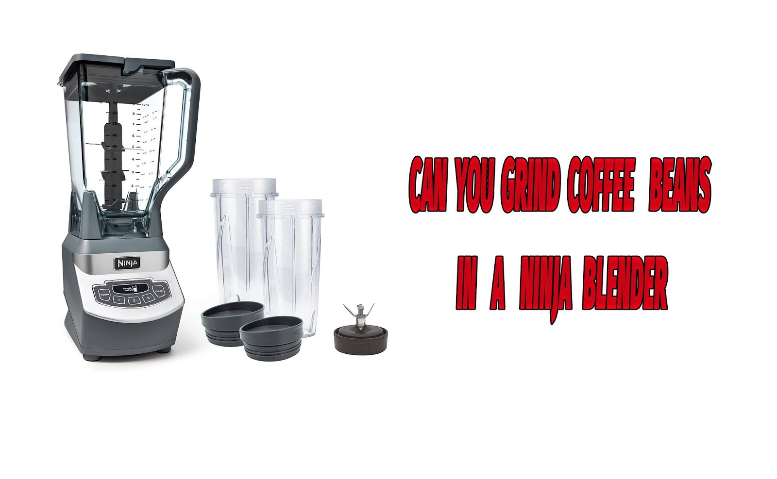 Can You Grind Coffee Beans In A Ninja Blender