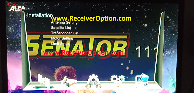 SENATOR 111 1506T NEW SOFTWARE WITH KOOORA & DIRECT BISS KEY ADD OPTION