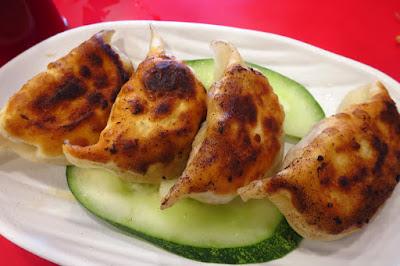 Jing Hua Xiao Chi (京华小吃), rosemary cheese guo tie