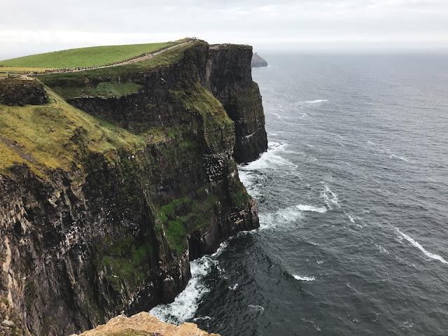 Vista dall'alto delle scogliere Cliff of Moher
