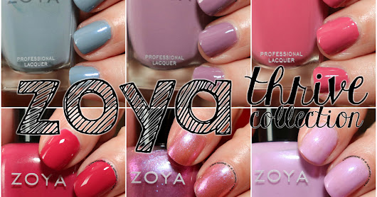 Zoya Thrive Collection and Earth Day Exchange