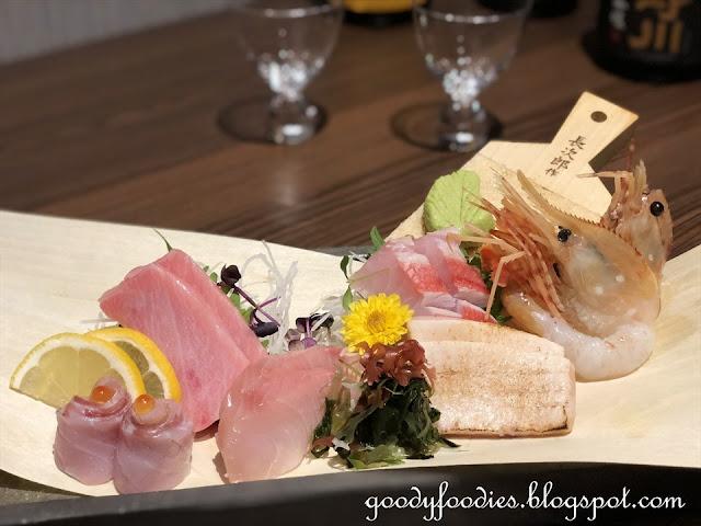 Sashimi Platter, Fincch Sushi Room