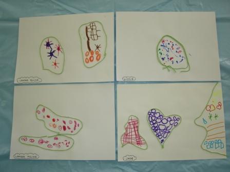 Arte Na Educacao Infantil Desenho Com Preenchimento