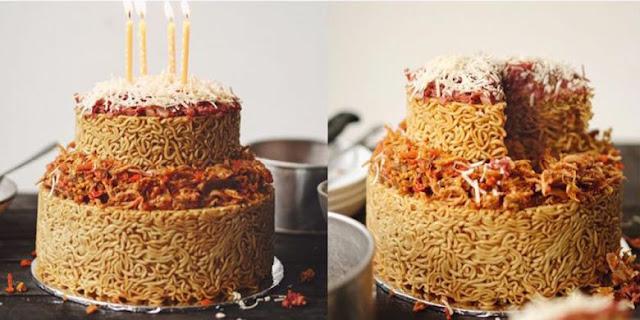 UNIK! Kue Ulang Tahun Ini Beda Banget Dari Biasanya. Lihat Saja Bentuknya